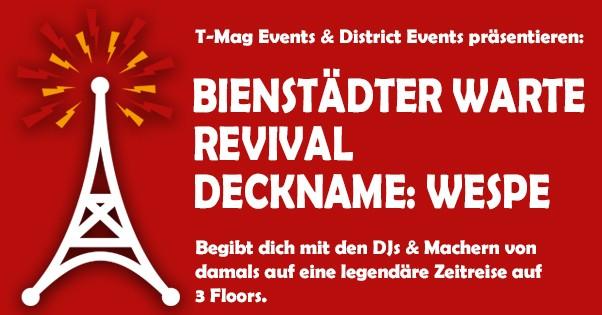 Eintrittskarte 13.04.19 Bienstädter Warte Revival - Deckname: Wespe inkl. USB Stick